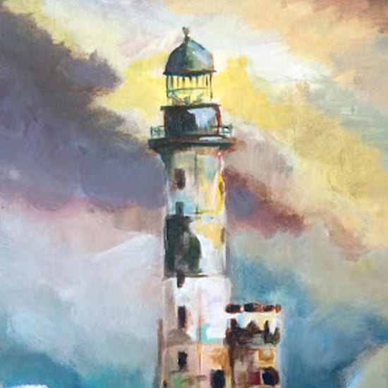 light-house-acrylic-painting
